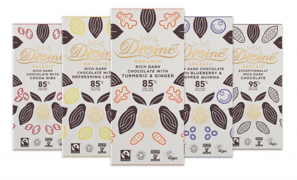Divine chocolate range