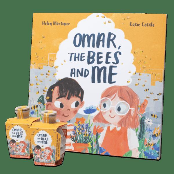 Omar the bees & me Seedbom bundle